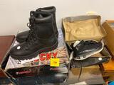 Rocky Boots 10.5, Kids Jordan sz. 2