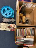CDs, Car, Bicycle Parts