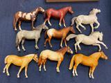 (9) Breyer Horses