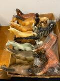 Ceramic Horse Figurines