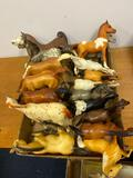 (17) Small Breyer Horses