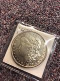 1879 silver dollar coin