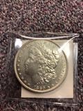 1880 silver dollar coin
