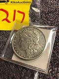 1882 silver dollar coin