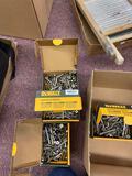 DeWalt lock bolts 4 boxes