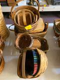 12 Longaberger baskets