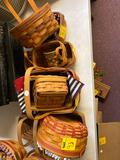 11 Longaberger baskets
