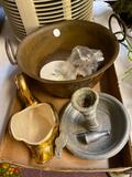 Goose, candlesticks, cooler bag, Duracraft filter/air purifier