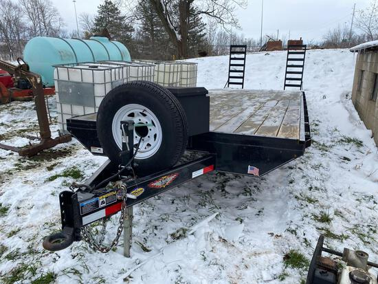 One owner H&H 2017 24ft trailer