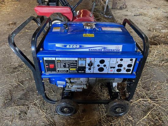 Tool Shed gas 6500W generator