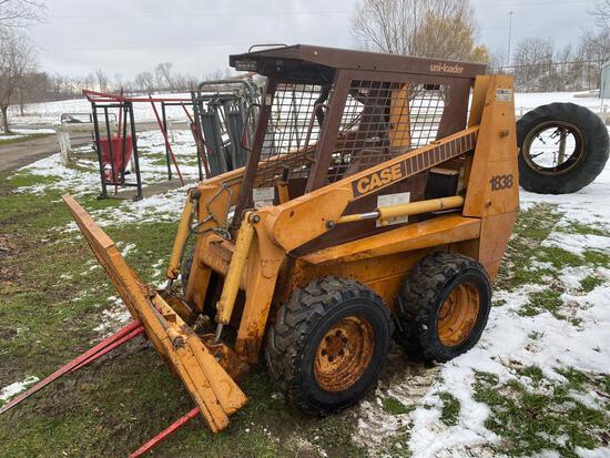 Case 1838 Diesel skid loader