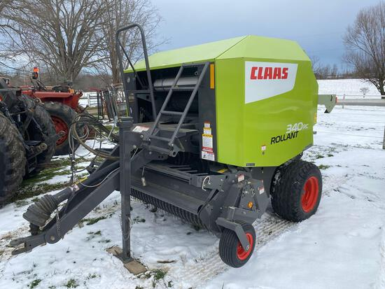 Claas 340 RC Rollant round baler - one owner like new