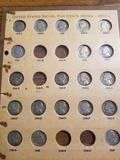 Jefferson nickel set, some missing