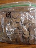 189 50s area wheat cents and lincolns