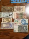 Assorted foreign currency