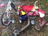 Child's bike tricycle