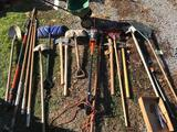 Lawn tools spreader