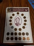 Lincoln wheat penny set 1939-1958