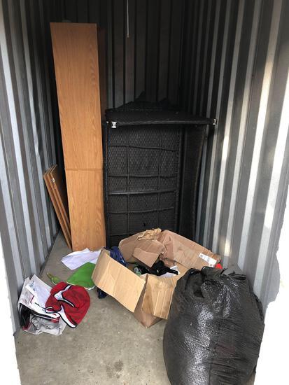 Contents of locker 2037