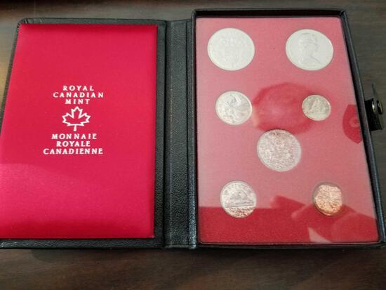 1971 Royal Canadian mint set
