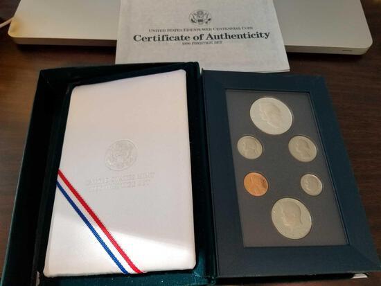 Eisenhower Centennial coin collection 1990 Prestige set