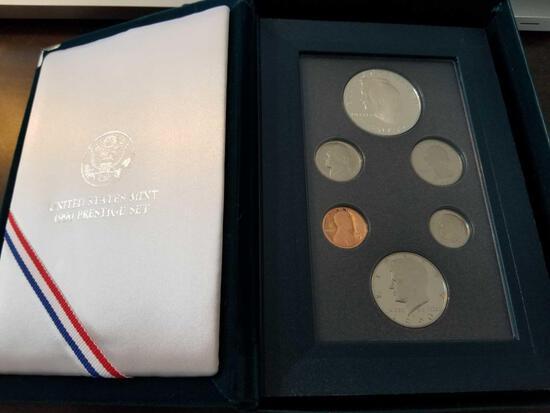 1990 Eisenhower centennial prestige set