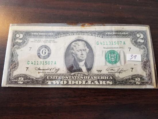 1976 $2 bill