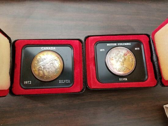 Canadian dollars, bid x 2