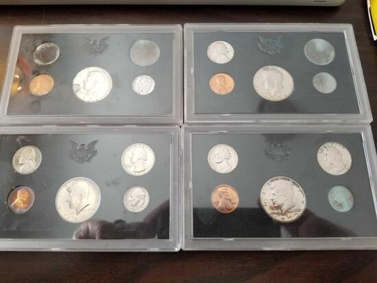 1971 and 1972 proof sets, bid x 4