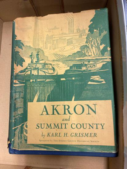 Grismer Akron and Summit County history book