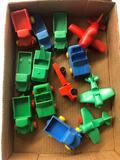 Viking plastic Sweden toys
