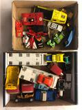 2 flats diecast vehicles