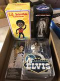 Elvis action figurine, bobble heads
