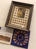 Lincoln coins, pennies, European coins