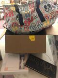 Thirty One beach bag, GloPro, cart, decor