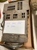 Old auto vacuum tube AM radio
