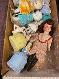 Germany bisque doll and Japan dolls 1910-1930s