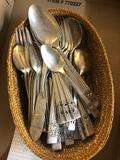 Set of Coronation flatware