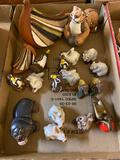 1 flat ?Casals? small animal collectibles