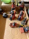 Cast iron Amish figurines