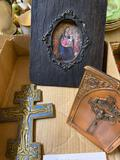 Religious crucifixes, Madonna and child early