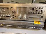 Panasonic DVD player and Soundesign stereo
