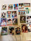 Nolan Ryan baseball cards, Cal Ripken Jr., Don Mattingly, great condition