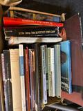 Books on antiques, etc