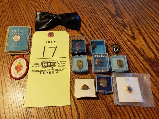 Service Award Pins, Bowtie
