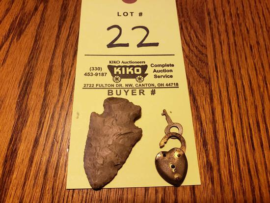 Arrowhead, Heart Lock