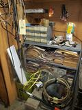 Shelf and Contents, Wiring, Tools, Manuals