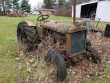 Allis Chalmers Scrap Tractor