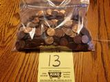 Assorted US Pennies