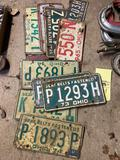 Assorted License Plates